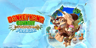 How did Donkey Kong Country Tropical Freeze fare in the eShop charts?