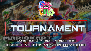 The Mario Kart 8 Deluxe Tournament takes place on June 23rd!