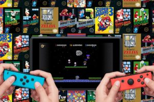 NES games are offered as part of a subscription model