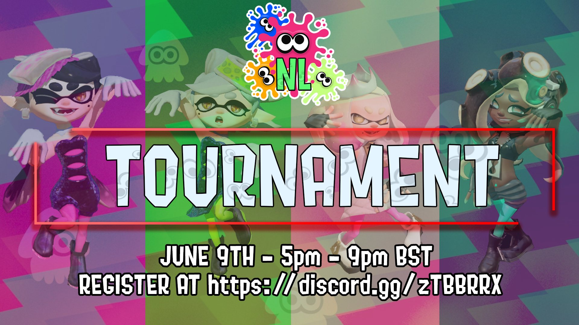 The Splatoon 2 Tournament takes place on June 9th from 5pm BST!
