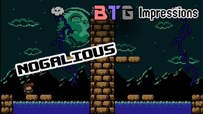 Nogalious is very much a retro styled game.