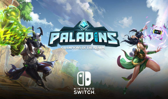 Paladins is an interesting release on Switch